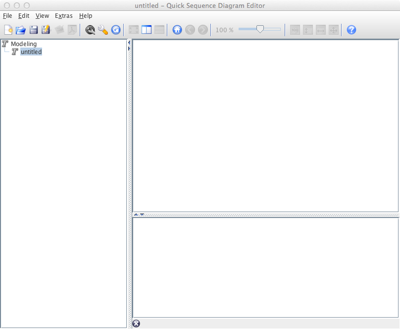 QUICK SEQUENCE DIAGRAM EDITOR